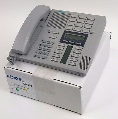 Nortel Norstar M7310 Gray Meridian Telephone Set 1yr Warranty Grade B Refurb LOT