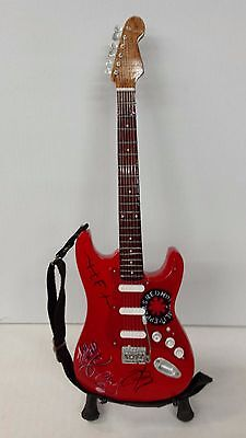 Red Hot Chili Peppers Miniature Guitar