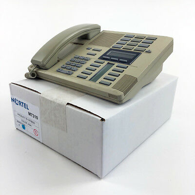 Nortel Norstar M7310 Ash Meridian Telephone Set 1yr Warranty Grade B Refurb LOT
