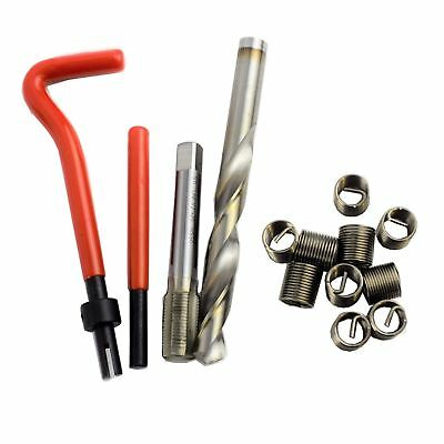"""1/2"""" x 20 UNF Imperial Tap Repair Cutter Kit Helicoil Damaged Threads 14pc Kit"""