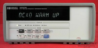 HP/Agilent 58503B -H02 GPS Time & Frequency Reference Receiver
