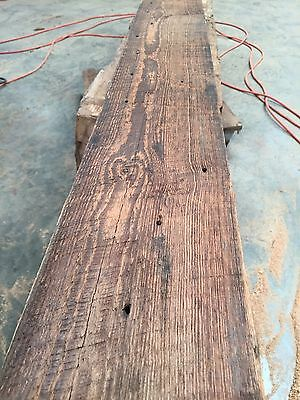 "50 Antique Reclaimed Prime Heart Pine 2""X6""X14' Lumber Circle Sawn Boards"