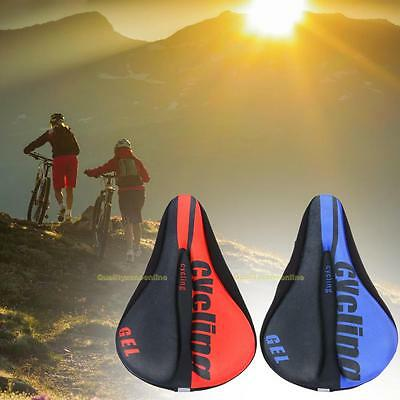 Silicone Comfort MTB Road Mountain Bike Bicycle Seat Cover Cushion Soft Saddle
