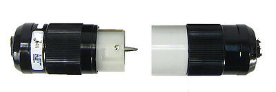 Woodhead Marinco 3 Prong 250V 50A 3-Phase Twist Lock Male & Female Plug Pair