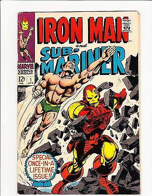 Iron Man And Sub-Mariner #1 1-Shot 1968 Marvel Archie Goodwin Gene Colan Nice!!