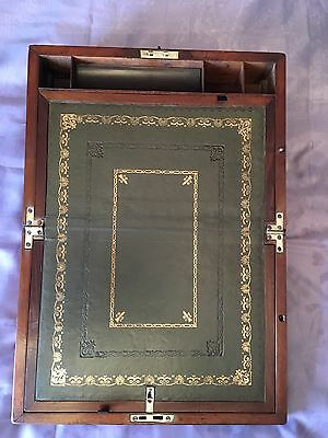 Victorian Writing Slope with Underdrawer and Working Lock & Key