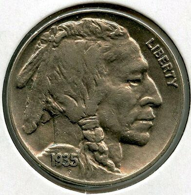 1935 P Buffalo Nickel - Philadelphia Mint - AK435