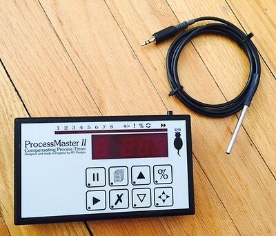 Process Master II Compensating Process Timer with footswitch