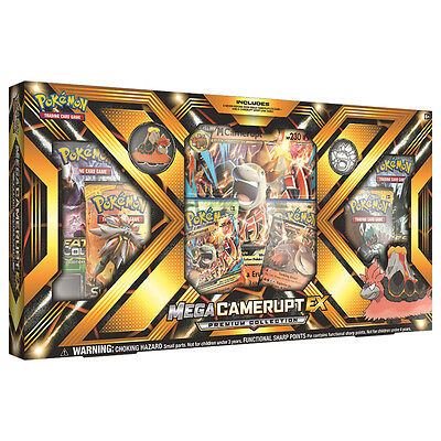 Pokemon TCG Mega Camerupt-EX Premium Collection