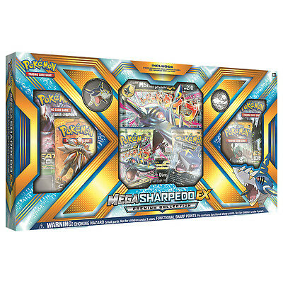 Pokemon TCG Mega Sharpedo-EX Premium Collection