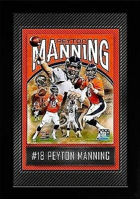 Peyton Manning Denver Broncos Collage,High Quality Wall picture,45cm,