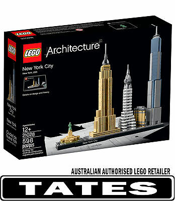 LEGO 21028 New York City Architecture from Tates Toyworld