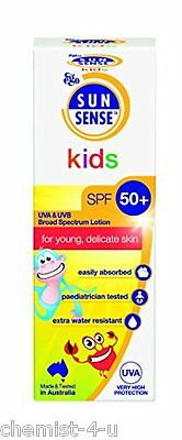 SunSense Kids Roll On with SPF50 and Sunscreen 50 ml