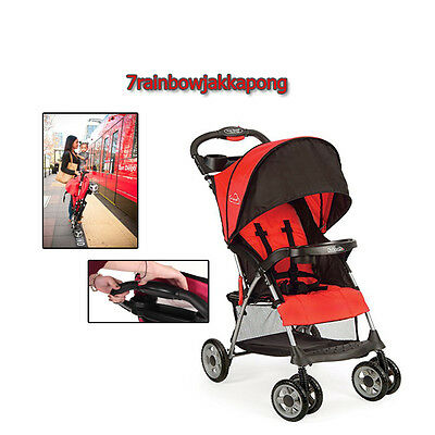 Foldable Baby Kids Stroller City Jogger Travel Car Seat Canopy Toddler Outdoor