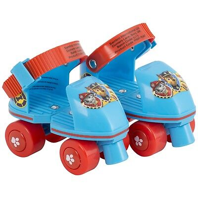 Paw Patrol Childrens Kids Toddlers Boys Beginners Outdoor Quad Roller Skates New