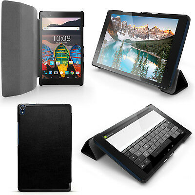 PU Leather Smart Case for Lenovo Tab 3 8'' Plus TB-8703 Tablet Stand Flip Cover