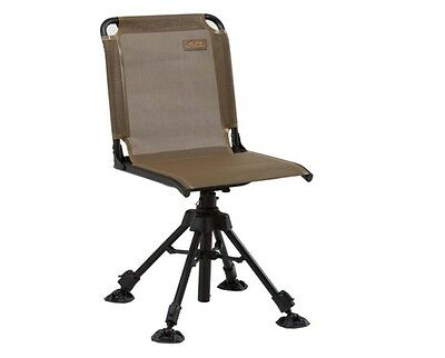 Swivel Hunting Chair With Back Stealth Hunter Camping Adjustable Chairs Seat