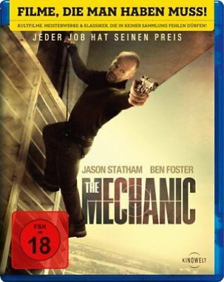 The Mechanic - Jason Statham  Blu-ray/NEU/OVP FSK18