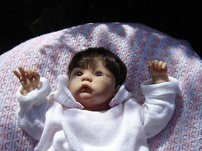 """Zapf Creations """"Babsi"""" Doll by Rolanda Heimer from the Designer Collection. 18"""""""