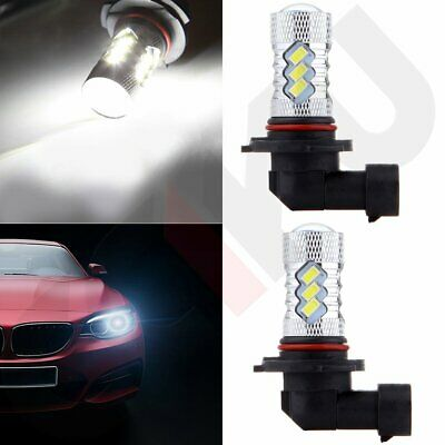 2x Xenon New Cree LED 9005 HB3 40W 4000LM Bright 15 SMD Fog Light 6000K