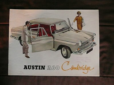 Austin A60 Cambridge Factory Brochure 1961 To 1969 Production Years Great Photos