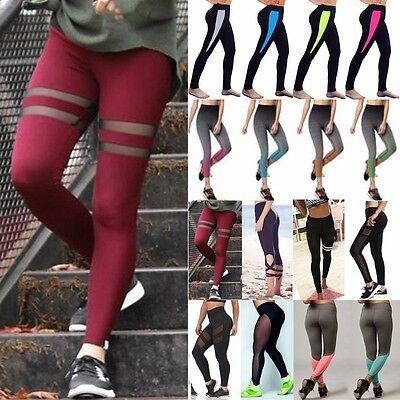 TOP Fashion Women's Sports Gym Yoga Running Fitness Leggings Pants Workout S612