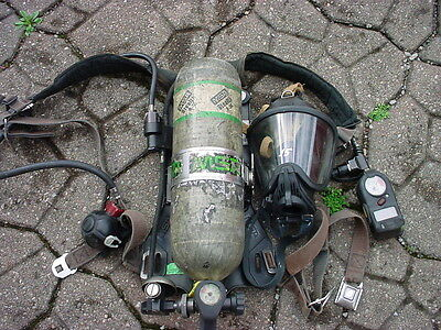 Msa Mmr Firehawk Fireman Fire Dept Scba Air Pack Hp 040417-