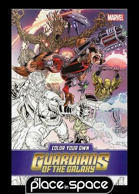 Color Your Own Guardians Of Galaxy - Softcover Graphic Novel