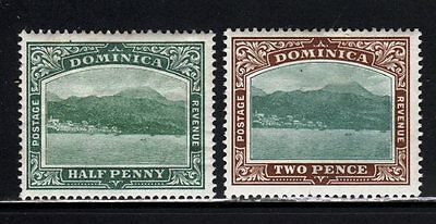 Item No. A1777 – Dominica - Scott # 25, 27 – MH