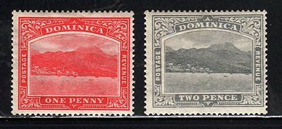 Item No. A1783 – Dominica - Scott # 57, 59 – MH