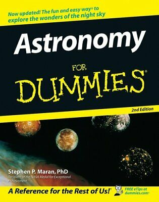 Astronomy For Dummies by Maran, Stephen P. Paperback Book The Cheap Fast Free