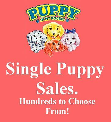 Vintage 1994 M.E.G. Toys ~ Puppy in my Pocket 75-99 ~ LOADS TO CHOOSE FROM HERE!