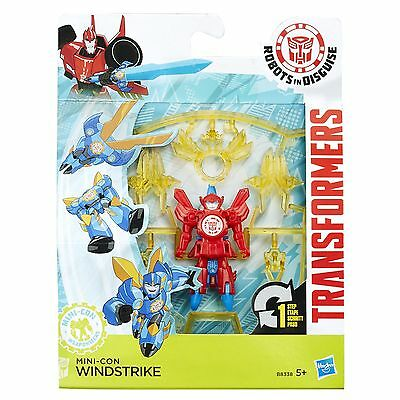 Transformers Robots in Disguise Mini-Con Weaponizers WINDSTRIKE Figure (B8338)