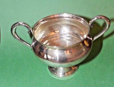 Vintage FISHER Sterling Silver Footed Sugar Bowl 703