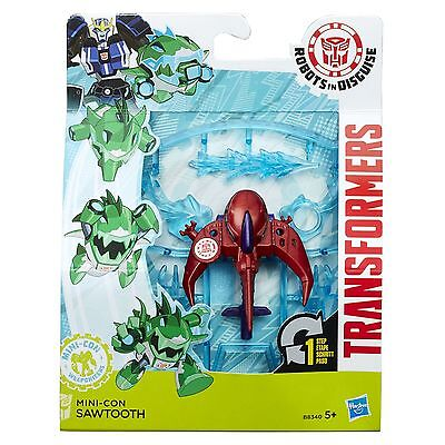 Transformers Robots in Disguise Mini-Con Weaponizers SAWTOOTH Figure (B8340)