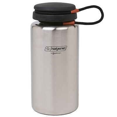 Nalgene Wide Mouth Stainless Steel 1L Water Bottle