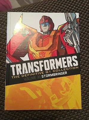 Transformers The Definitive G1 Collection 36: Stormbringer