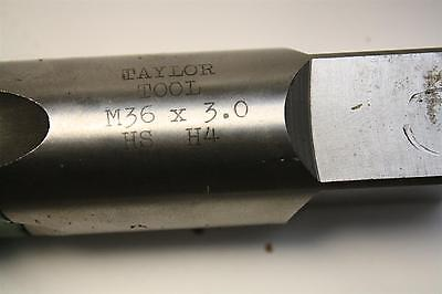 Taylor Tool M36x3 Hand Tap