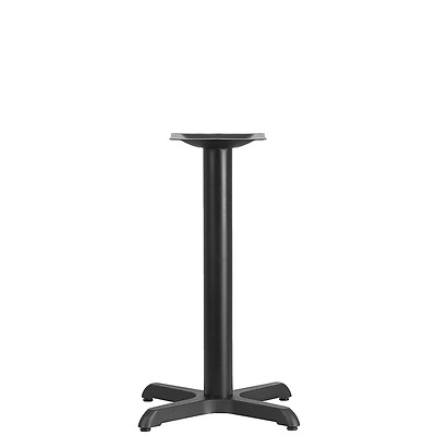 """Flash Furniture 22 by 22"""" Restaurant Table X-Base with 3"""" Diameter Table Height"""