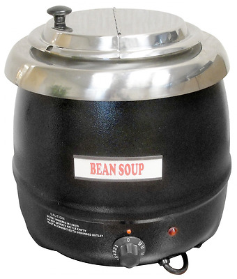 Winco ESW-66 Electric Soup Warmer, 10.5-Quart