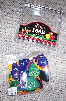 BOX 100 Plettri per Chitarra Roling's in Nylon guitar Picks 081/096