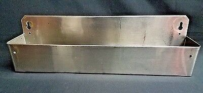 "21 1/4"" Stainless Steel Single Tier Commercial Bar Speed Rail Rack"
