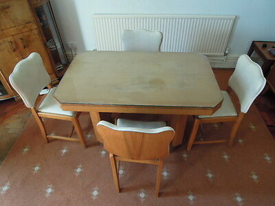 Art Deco Dining Table & Chairs