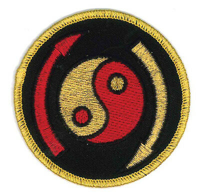 "Ying Yang Dragon Martial Arts Patch 4/"" P1208"