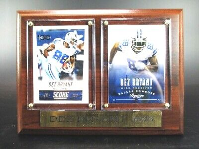 Dec Bryant Dallas Cowboys Wood Wall Picture 20 cm,Plaque NFL Football,New