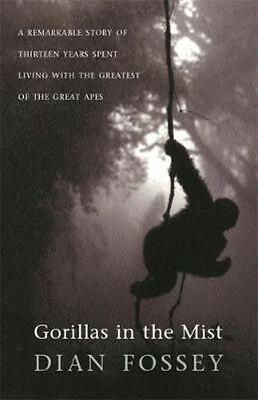 Gorillas in the Mist by Dian Fossey Paperback Book (English)