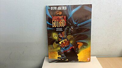 Batman and Judge Dredd: Judgement on Gotham by Grant, Alan Book The Cheap Fast