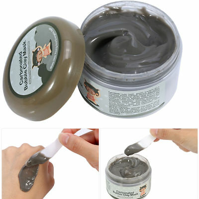 100g Milky Carbonated Bubble Clay Mask Face Deep-Cleansing Pore Skin Care TP