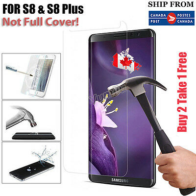 Premium Tempered Glass Screen Protector for Samsung S7 S7 Edge S8 S8 Plus