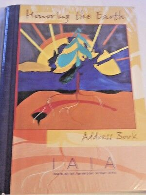 "NEW ""Honoring the Earth"" Address Book Institue of American Indian Art NIB"